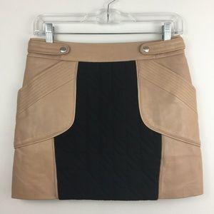 Rebecca Minkoff TITAN Lined Skirt Mini